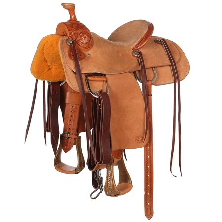 Nrs Pro Series Decatur Rose 1/3 Breed Youth Team Roping Saddle