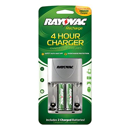 Rayovac 4 Position AA/AAA 4 Hour Value Charger,