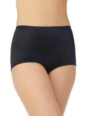 Vassarette Women's Undershapers Light Control Brief Panties, style 40001