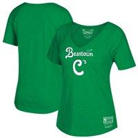 Boston Celtics Mitchell & Ness Women's Beantown Hometown V-Neck T-Shirt - Kelly Green