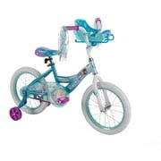 "16"" Huffy Girls' Disney Frozen Bike, Sleigh Doll Carrier"