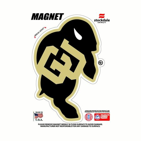 Colorado Buffaloes NCAA Outdoor Magnet - Team Color ()