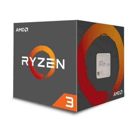 AMD Ryzen 3 1200 4-Core 3.1GHz (3.4GHz Turbo) Desktop Processor