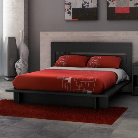 Stellar Home Furniture Milan Queen Panel Bed