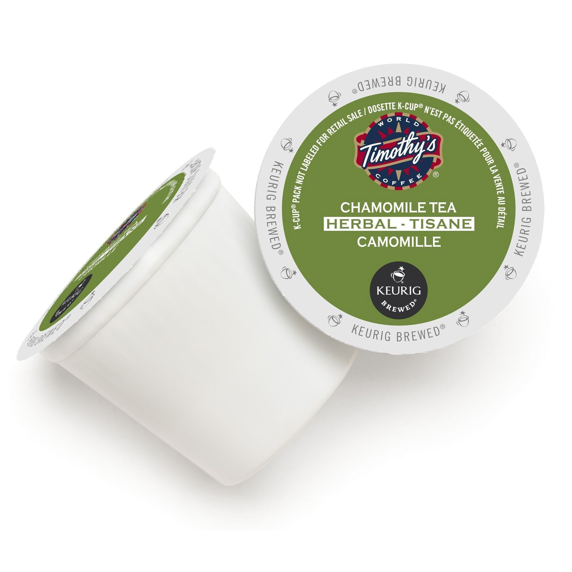 Timothy's Chamomile Tea, K-Cup Portion Pack for Keurig Brewers (24 Count)