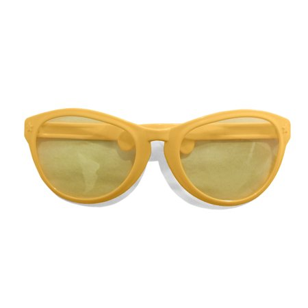 Jumbo Giant Clown Novelty Sunglasses Glasses Plastic Novelty Costume Huge Frames - Hue Halloween App