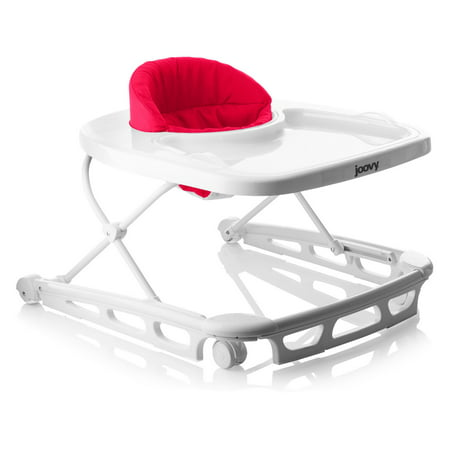 Joovy Spoon Baby Walker with Dishwasher Safe Tray Insert, -