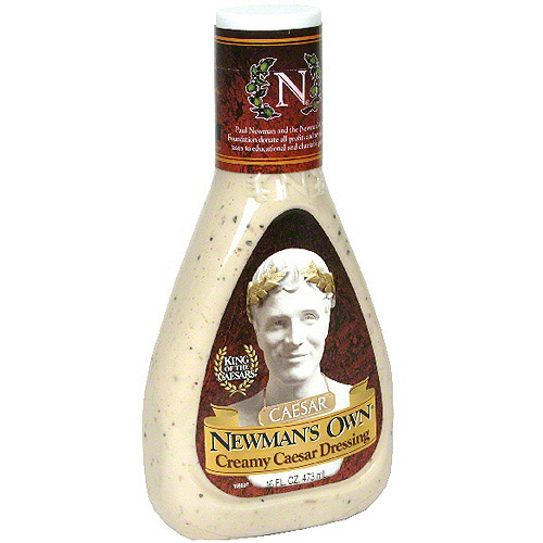 Newman's Own Creamy Caesar Dressing, 16 oz (Pack of 6)