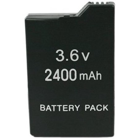EXTENDED 3.6V 2400mAh Li-ion Slim Rechargeable BATTERY PACK For SONY PSP Slim 2000/3000