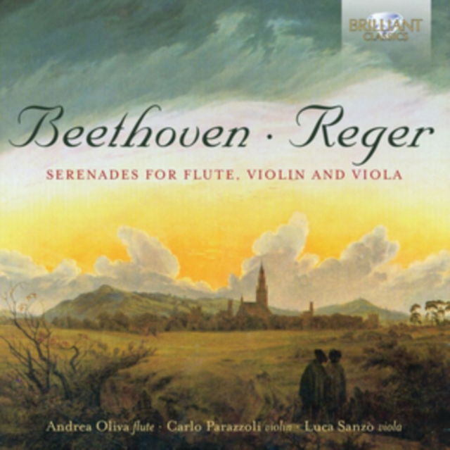 Beethoven & Reger: Serenades for Flute, Violin and Viola by