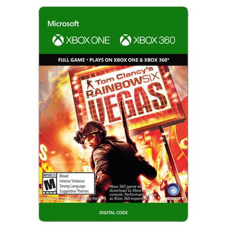 Xbox 360 Tom Clancy's Rainbow Six Vegas (email
