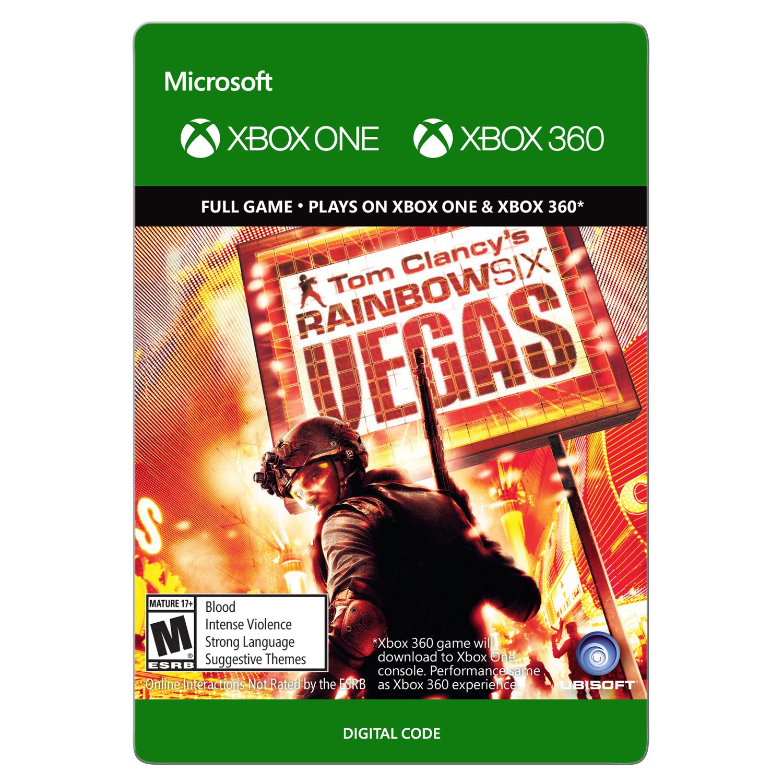 Xbox 360 Tom Clancy's Rainbow Six Vegas (email delivery)