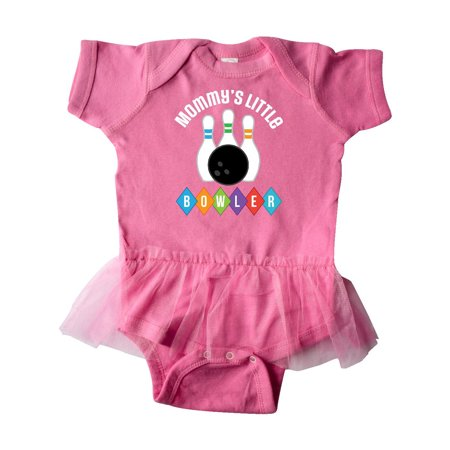 Bowling Mommys Little Bowler Outfit Infant Tutu Bodysuit