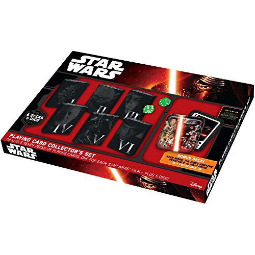 Star Wars Playing Card Collector'S Set In Collectible Tin