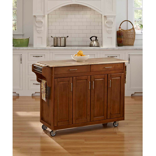 Kitchen Carts And Islands with Wood Top - Home Styles