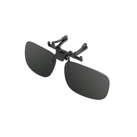 0dc650234f Unique Bargains - Plastic Lens Vintage Polarized Clip On Prescription  Glasses for Driving Fishing - Walmart.com