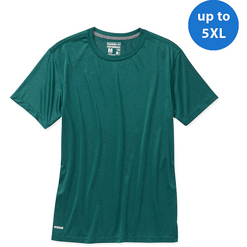 Starter Big Men's  Short Sleeve Heather Wicking Tee