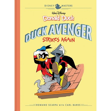 Disney Masters Vol. 8: Donald Duck : Duck Avenger Strikes Again](Donald Duck Halloween Episode)