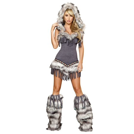 Native American Temptress Deluxe Indian Sexy Adult Costume