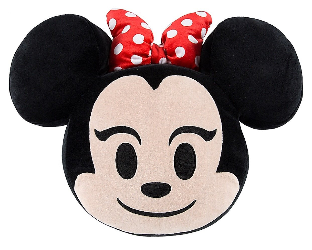 Disney Minnie Mouse Emoji 10'' Smiling Expressions Pillow