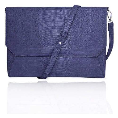 "Fabrique Francine Collection Lenox Sleeve for 11"" Laptop - Blue"