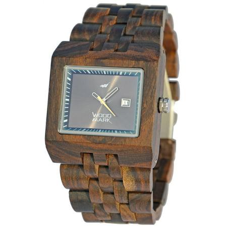 Wood Mark ZS-W017A Mens Ranier Black Sandalwood Watch