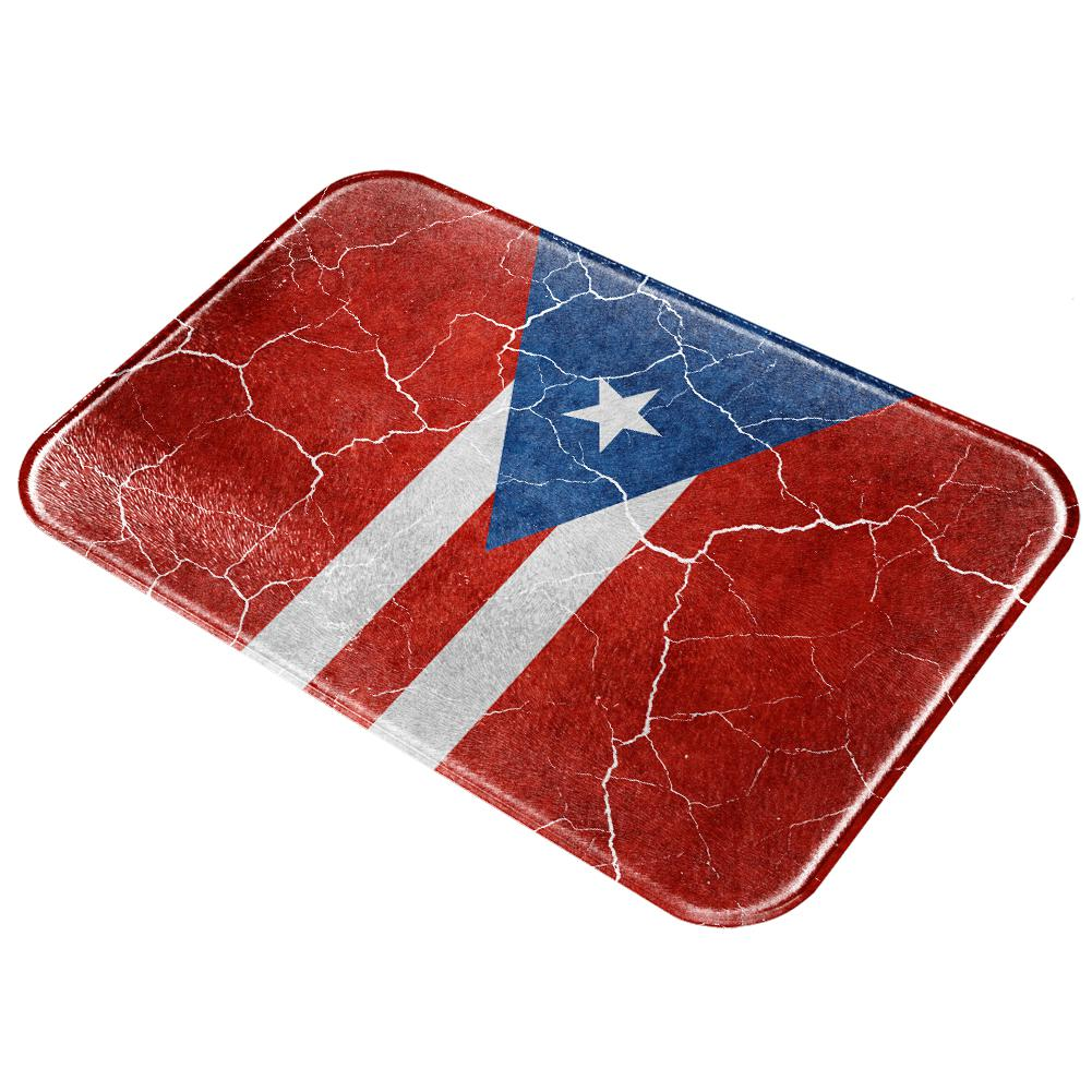 Old Glory Distressed Vintage Puerto Rican Flag All Over G...
