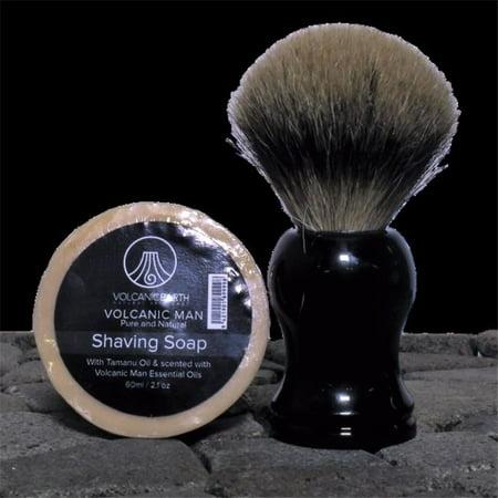 Shaving Soap Refill - Volcanic Earth VMSS 2.1 oz Mens Shaving Soap Refill