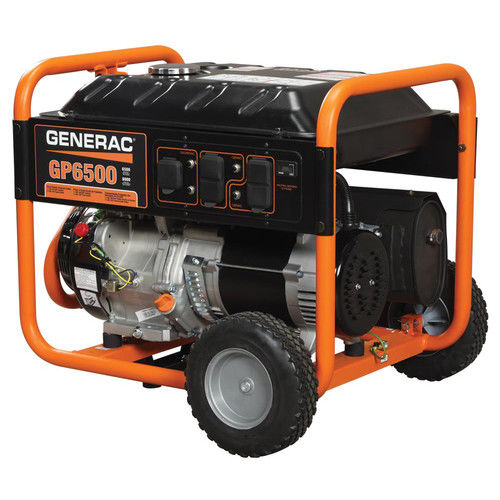 Generac 5976- 6500-Watt Gasoline Powered Portable Generator, 49/CSA