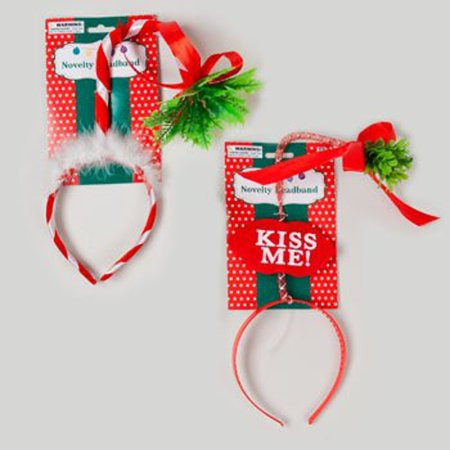 MISTLETOE CHRISTMAS HEADBAND (Xmas Headbands)