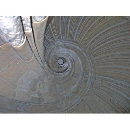 Canvas Print Stairs Eye Spiral Wendelstein Spiral Staircase Stretched Canvas 10 x 14