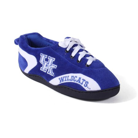 Comfy Feet Kentucky Wildcats Slippers - Happy Feet Mens and Womens Kentucky Wildcats - All Around Slippers - Large