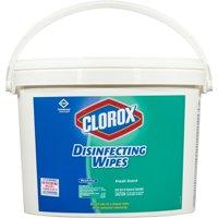 Clorox Disinfecting Wipes, 7 x 7, Fresh Scent, 700/Bucket