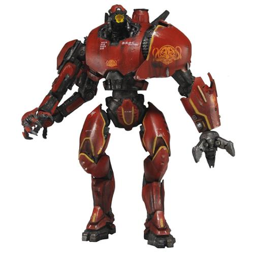 "Pacific Rim Series 1 7"" Deluxe Action Figure Jaeger Crimson Typhoon"