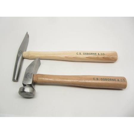 Osborne #66 227 Cobblers Wood Heel Hammer Leather Saddlers Pocket Book Luggage