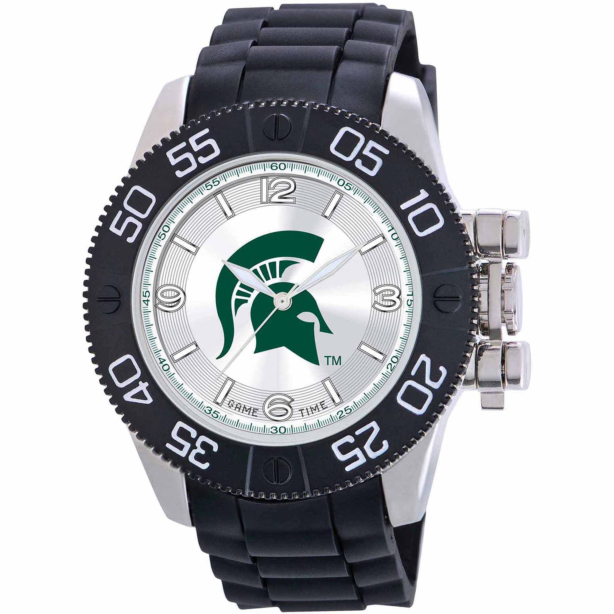 Game Time NCAA Men's Michigan State Spartans Beast Series Watch