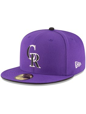Product Image Colorado Rockies New Era Authentic Collection ON Field  59FIFTY Structured Hat - Purple c843c014c45d