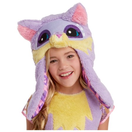 Animal Jam Awesome Funny Fox Girls Hood One Size Costume Accessory (Fox Costume Girl)
