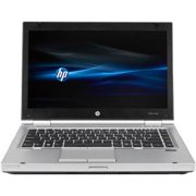 "Refurbished HP Silver 14"" EliteBook 8470P WA5-1059 Laptop PC with Intel Core i5-3320M Processor, 4GB Memory, 750GB Hard Drive and Windows 10 Home"