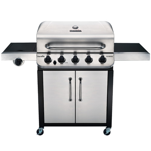 Char-Broil Performance 5-Burner Propane Gas Grill with Cabinet