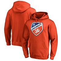 FC Cincinnati Fanatics Branded Logo Primary Pullover Hoodie - Orange