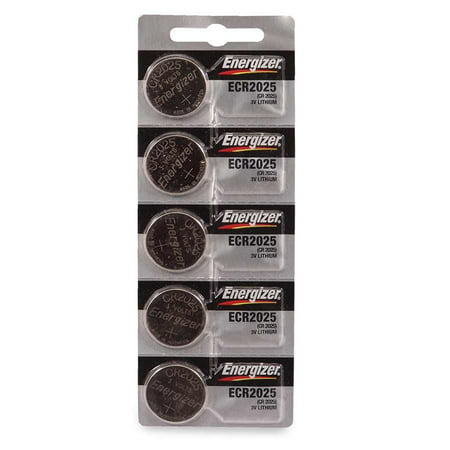 Energizer ENERGIZER-ECR2025 155mAh 3V Lithium Primary Coin Cell Battery 3v Lithium Coin Battery