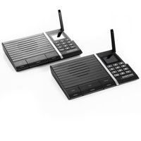 Samcom 10-Channel Digital FM Wireless Intercom System for Home and Office 2 Stations