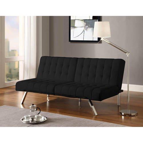 Dhp Emily Convertible Tufted Futon Sofa