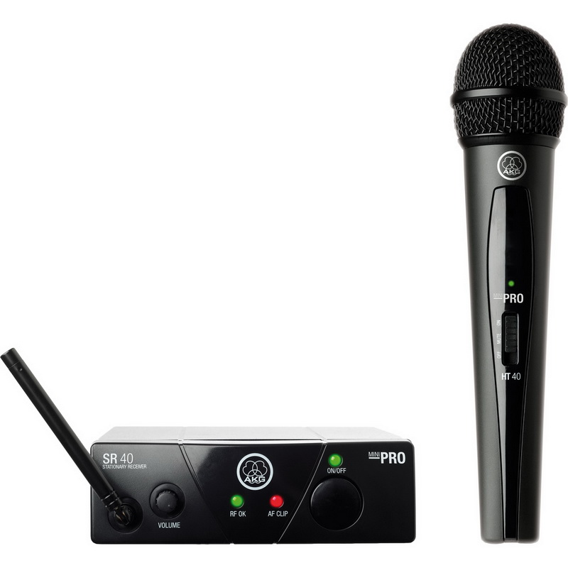 AKG ACOUSTICS WMS40 Mini Vocal Set Band 25C UHF Handheld ...