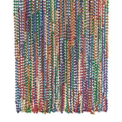 IN-24/2651 Rainbow Mardi Gras Beads for $<!---->