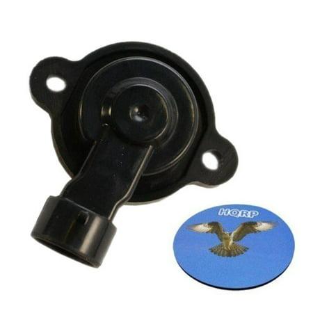 HQRP Throttle Position Sensor TPS for GMC K1500 1996 1997 1998 1999 96 97 98 99 ; K1500 Suburban 1996 1997 1998 96 97 98 plus HQRP Coaster 99 Gmc K1500 Suburban Hood