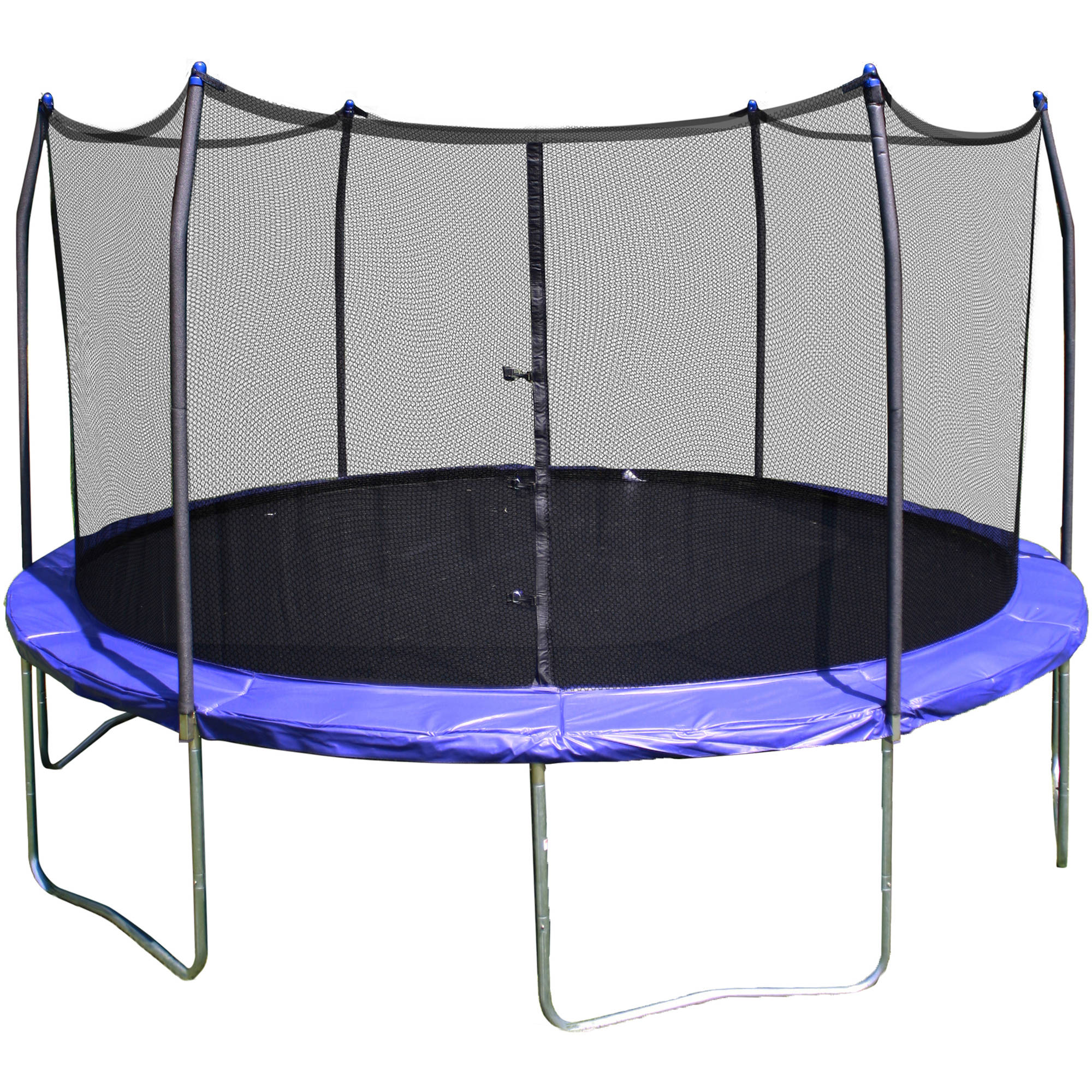 Round Trampoline 12 Safety Enclosure Net Bounce Jump Spring Pad Outdoor New