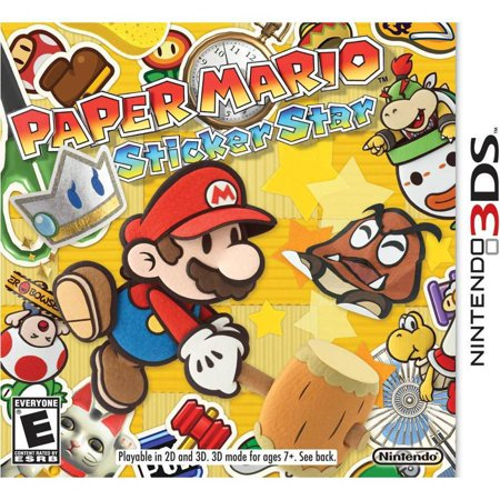 Paper Mario Sticker Star for Nintendo 3DS](Mario For Hire)
