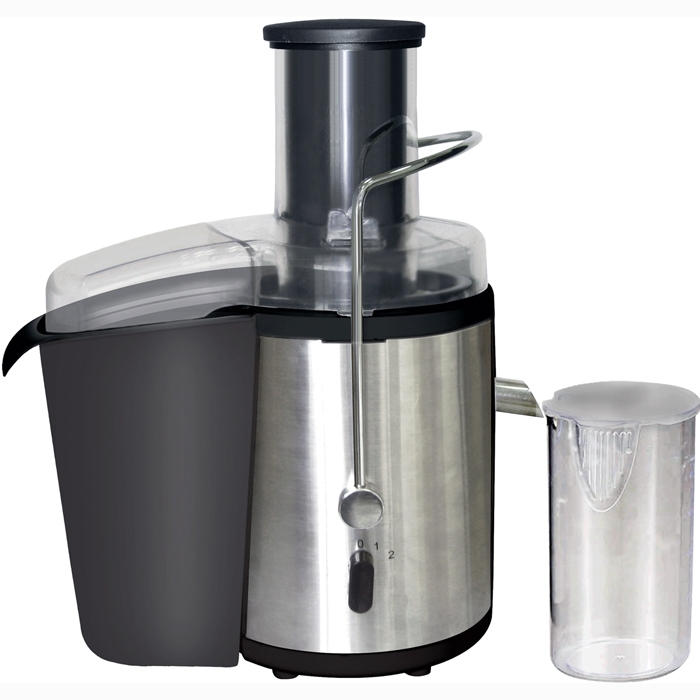 Brentwood JC-500 Power Juice Extractor - 700 Watts - Stainless Steel